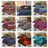 Indian Mandala Duvet Cover Set King/Queen/ Twin Size Quilt Cover Boho Comforter