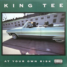 King Tee – At Your Own Risk  -  Original USA Kassette !!