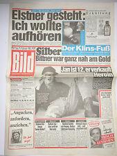 Bild Zeitung 13.2.1989, Bros, Jodie Forster, Mr. Spock Enterprice, Elstner Frank