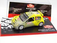 Ixo Presse Rallye Monte Carlo 1/43 - Renault Clio S1600 2004