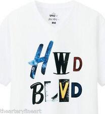 JACK PIERSON x UNIQLO 'HWD BLVD' SPRZ NY Art T-Shirt Medium **BRAND NEW**