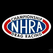 NHRA Drag Championship Stickers Rally Old Vintage
