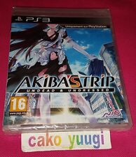 AKIBA'S TRIP UNDEAD & UNDRESSED SONY PS3 NEUF VERSION FR TEXTE EN ANGLAIS