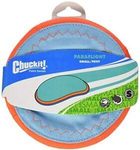 Chuckit! PARAFLIGHT SMALL SOFT BITE Frisbee Flippy Fetch Floppy Flyer Dog Toy