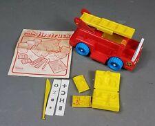 Rare Vtg 1983 PLAY-DOH Firetruck Kenner playdoh fire truck playset 80s *complete