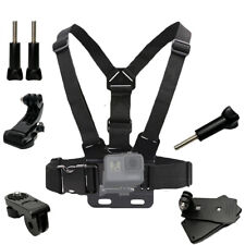 Chest Mount Harness Adjustable for GoPro Hero 7 6 5 4 3+ Camera Clip Mount