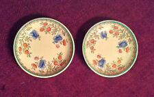 """SPODE'S AUDLEY ROYAL JASMINE, SET OF TWO 3"""" TEA DISHES. PRISTINE CONDITION"""