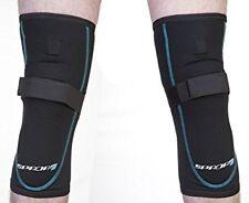 Spada Motorcycle Knee Armour Protection - Black [Pair]