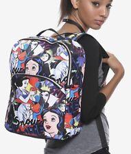Disney Snow White & Evil Queen Pop Art Print School Camp Book Bag Backpack NWT!