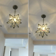 Moravian Star Pendant Lights products for sale | eBay