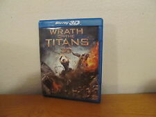 Wrath of the Titans 3D Blu Ray / Blu Ray / DVD - No code
