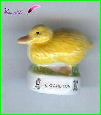 """Feve Animaux de la Ferme Edition Atlas """" Le Caneton """" duckling Entlein  #B16"""