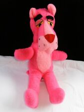 "Vintage 1964 PINK PANTHER Plush Stuffed Toy By MIGHTY STAR 15"" Tall MINT"