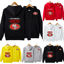 San Francisco 49ers Hoodies Football Hooded Sweatshirt Pullover Fans Jacket Coat