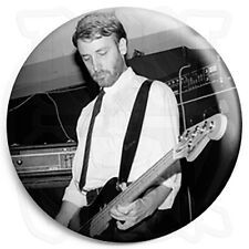 """Joy Division - Peter Hook """"Hooky"""" Bass - Post Punk Indie 25mm Button Badge"""