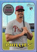 Dylan Cozens 2018 Topps Heritage High CHROME PURPLE REFRACTOR Phillies #THC-634