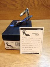 Raine Just the Right Shoe Coa Box Tiffany 25346 Stepping Out
