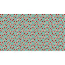 Katie Jane Garland Floral Flower 100 Cotton Fabric by Makower FQ 50cm X 55cm