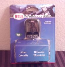 Bell 12 Function Cyclocomputer Bike Computer Trip Distance Timer, NEW!