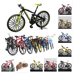 Bicycle Model Mountain Bike 1:10 Mini Fashion Racing Toys Alloy Diecast Metal
