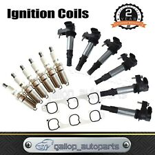 Ignition Coils & Spark Plugs Inlet Gasket set for Holden Commodore Crewman VZ V6