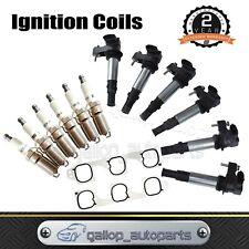 Ignition Coils & Spark Plugs Inlet Gasket set for Holden Commodore Crewman VZ V6
