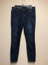 """Madewell Women's Skinny Skinny 10"""" High-Rise Crop Ankle Jeans Sz 31"""