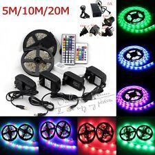 5M 10M 20M  SMD 3528 5050 5630 RGB White SMD Strip Light  Xmas 300LED 110V 200V