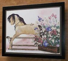 Antique Horse - Helen Paul print - 20''x16'' frame, Helen Paul paintings