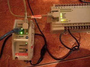 Allen Bradley 1761-NET-ENI D FW 3.22 MicroLogix Ethernet Interface Module