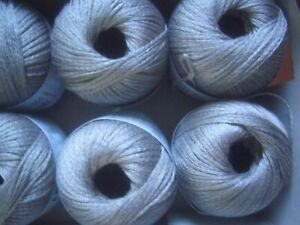 100g Nm.2//28 Lace Wolle Kone Weben Creme 50/%Kaschmir//Cashmere 50/%Merino 650m//50g