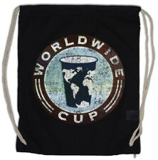 WORLDWIDE CUP Drawstring Bag Shameless Frank Gallagher Coffee Shop Cafe