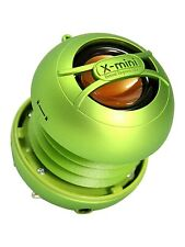 X-mini uno (verde) - portátil Mini Altavoz con jack de 3.5mm y sonido masivo!