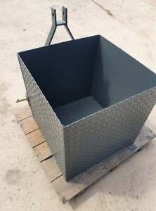 Agri-Fabs Tractor Weight Box / Handy Tractor Tool Box 3 point linkage