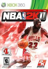 XBOX 360 NBA 2K11 Video Game Multiplayer Online Basketball Tournament Jordan yo