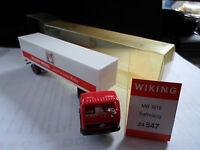 Wiking autos1 x MB 1619 Sattelzug (  Sammlungs auflösung !!