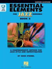 Essential Elements for Jazz Ensemble Book 2 Eb Baritone Saxophone New 000877505