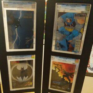 Batman: The Dark Knight Returns 1-4 CGC Graded (9.4,9.2,9.4,9.4) Frank Miller DC