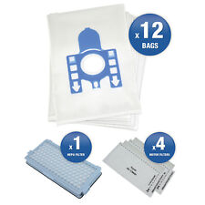12 x Miele C3 GN Vacuum Cleaner Hoover Dust Bags & Filters Maintenance kit
