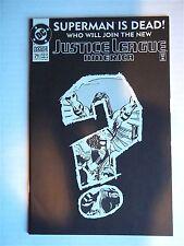 DC Comic Book - JUSTICE LEAGUE AMERICA Superman is Dead!, #71 FEB 1993