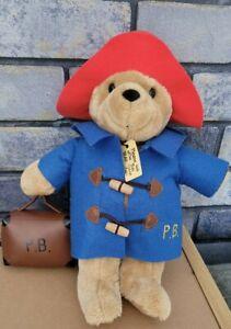 Paddington Bear Teddy With Hat, Coat And Suitcase