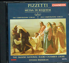 CD album: Pizzetti: messa de requiem. Stefan Parkman. chandos. C