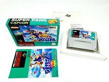 Super Nintendo Super Pang Complete [FRG] PAL SNES ► Very Rare ◄