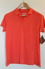 NWT Columbia PFG Omni Freeze Polo Size Small Coral Golf Active Wear
