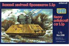 UNIMODELS 258 1/72 Heavy Antiaircraft Car S.Sp Armored