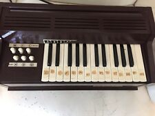 Vintage Magnus Electric Chord Organ Model 300 Made in USA Works Well.