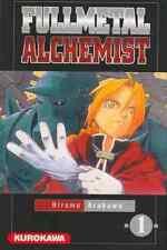 Collection de mangas Full Metal Alchemist  - 3 premiers tomes - Kurokawa
