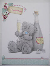 LARGE ME TO YOU TATTY TED COLOURFUL CONGRATULATIONS GREETING CARD