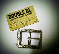 Genuine American Ralph Lauren RLL 100% Alloy Metal Carved Belt Buckle Accessory