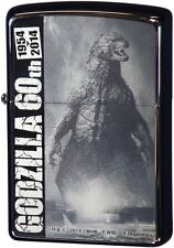 Zippo Godzilla 60th Anniversary Holywood B Black Nickel Plating Japan Limited
